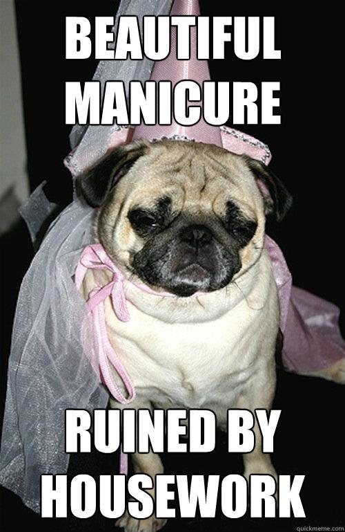 manicure fail