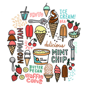 (c) http://leftylettering.com/I-scream-for-ice-cream
