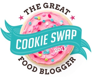 2015 Great Food Blogger Cookie Swap Badge - White background